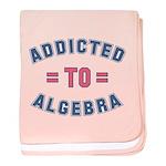 Addicted to Algebra baby blanket
