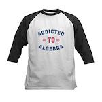 Addicted to Algebra Kids Baseball Jersey