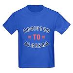 Addicted to Algebra Kids Dark T-Shirt