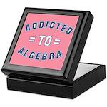Addicted to Algebra Keepsake Box