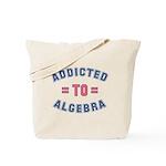 Addicted to Algebra Tote Bag