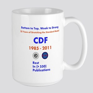 CDF End of Operations Mugs