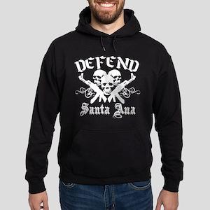 Defend SANTA ANA Hoodie (dark)
