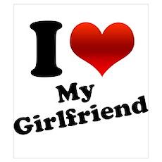 I Heart My Girlfriend Poster