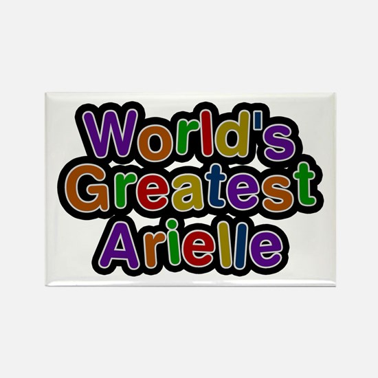 World's Greatest Arielle Rectangle Magnet