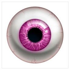 The Eye: Pink, Dark Poster