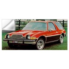 AMC Pacer Wagon Wall Decal