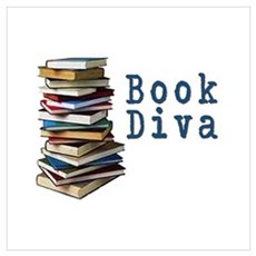 Book Diva (w/books) Poster