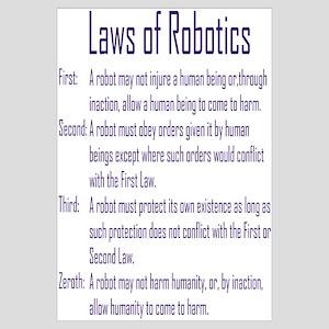 Asimov's Robot Series Laws of Robotics