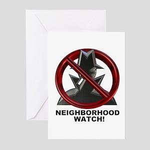 Neighborhood Watch Greeting Cards (Pk of 10)