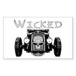 Wicked- Sticker (Rectangle 10 pk)