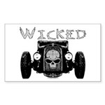 Wicked- Sticker (Rectangle 10 pk)