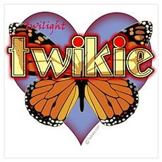 Twilight Twikie Magic Butterfly Poster