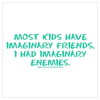 I Had Imaginary Enemies Poster