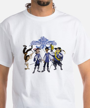 The Musketeers White T-Shirt