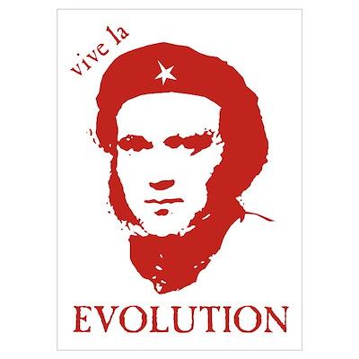 Viva Darwin Evolution! Poster