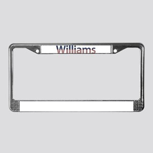 Williams Stars and Stripes License Plate Frame