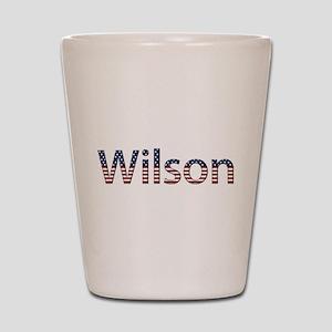 Wilson Stars and Stripes Shot Glass