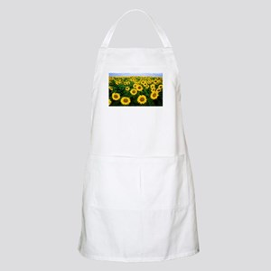 Sunflowers in field Apron
