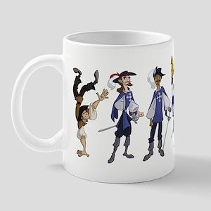 The Musketeers Mug