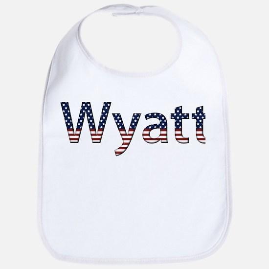 Wyatt Stars and Stripes Bib