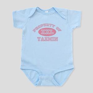 Property of Yazmin Infant Bodysuit