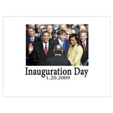 Inauguration Day 1.20.09 Framed Print