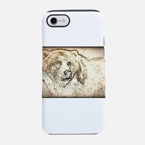 The Brown Bear iPhone 7 Tough Case