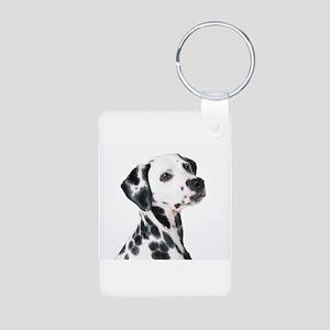 Dalmatian Aluminum Photo Keychain
