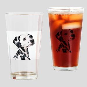 Dalmatian Drinking Glass