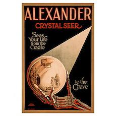 Alexander Crystal Seer Poster