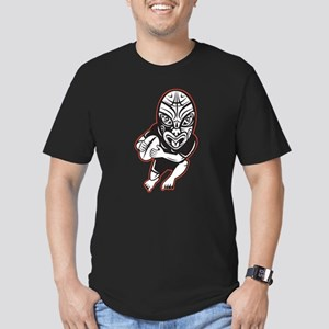 Maori Rugby player Men's Fitted T-Shirt (dark)
