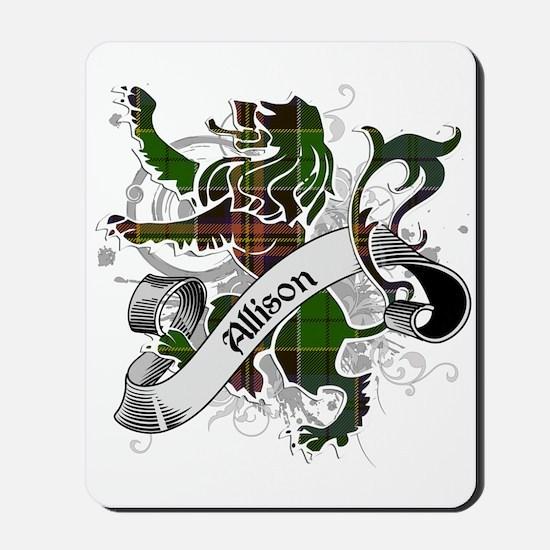 Allison Tartan Lion Mousepad