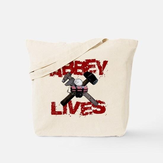 Abbey Lives! Tote Bag
