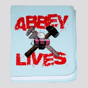 Abbey Lives! baby blanket
