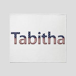 Tabitha Stars and Stripes Throw Blanket