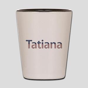 Tatiana Stars and Stripes Shot Glass