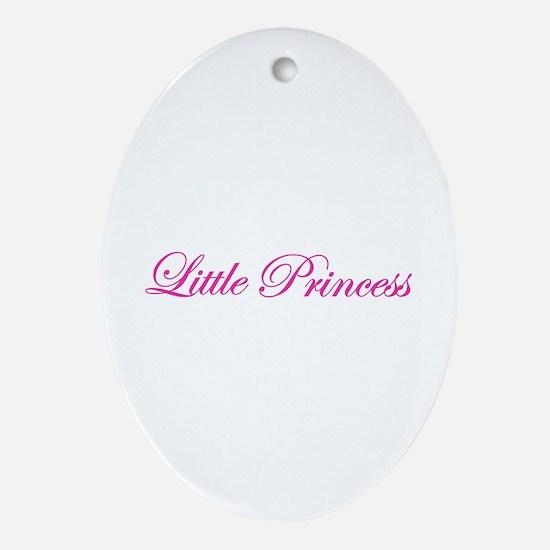 little princess Ornament (Oval)