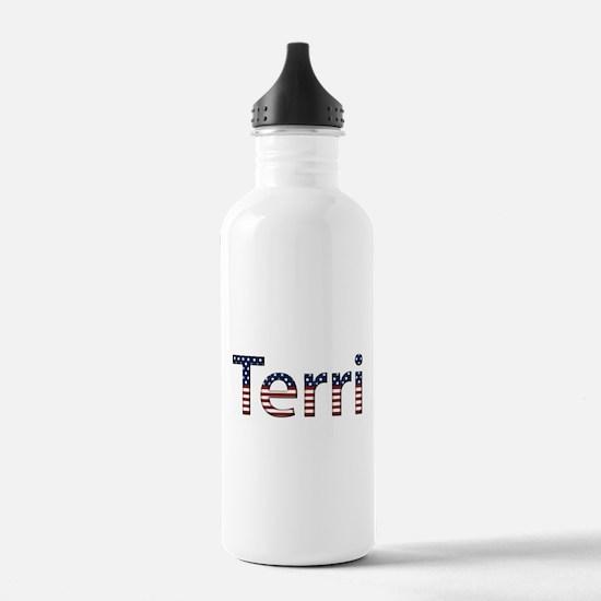 Terri Stars and Stripes Water Bottle