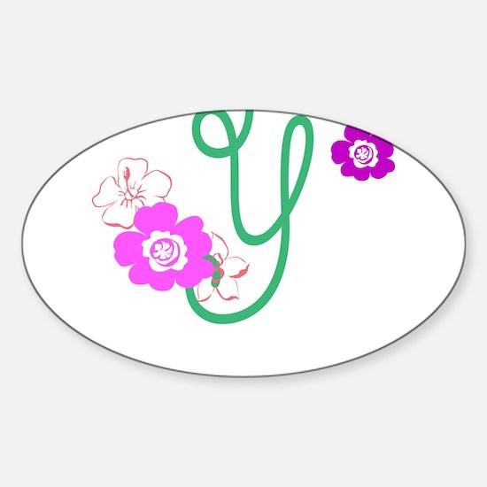 Y Sticker (Oval)