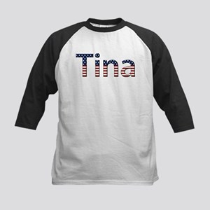 Tina Stars and Stripes Kids Baseball Jersey
