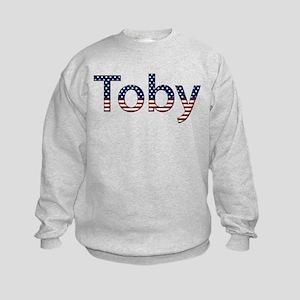 Toby Stars and Stripes Kids Sweatshirt