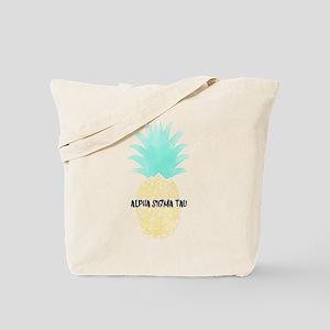 AlphaSigmaTau Pineapple Tote Bag