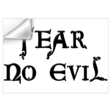 """Fear No Evil"" Wall Decal"