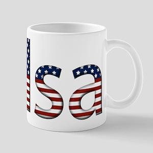 Tulsa Stars and Stripes Mug
