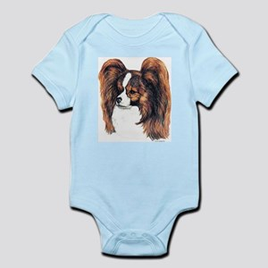 Red Papillon Infant Creeper