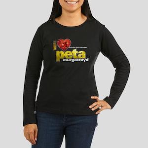 I Heart Peta Murgatroyd Women's Dark Long Sleeve T