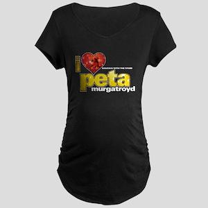 I Heart Peta Murgatroyd Dark Maternity T-Shirt