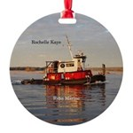 Rochelle Kaye Round Ornament