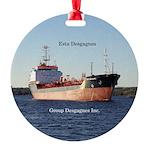 Esta Desgagnes Round Ornament